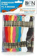 Cotton Embroidery Floss Pack 8.7yd 36/Pkg Primary Colors 029064001259