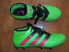 ADIDAS ACE 16.2 PRIMEMESH FIRM GROUND FOOTBALL SOCCER BOOT SHOES MENS SIZE 11.5