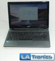 """Acer C710-2815 11.6"""" Chromebook Intel Celeron 847 1.1 GHz 4GB 16GB HDD """"B"""""""