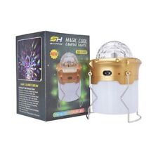 Lampe torche / Lanterne 6 Led +3 +3 Couleur / Lumière Laser + USB – 110/230V