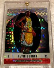 KEVIN DURANT 2006 TOPPS FINEST XFRACTOR REFRACTOR ROOKIE #102 SERIAL #01/25