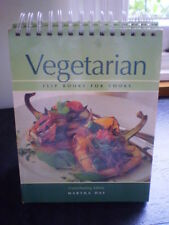 Vegetarian Flip Books for Cooks Hardback 2001 Illustrated