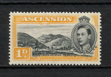 Ascension Sg 46 1938 Perf 14 Gvi 5/ Mint hinged Fine Mounted