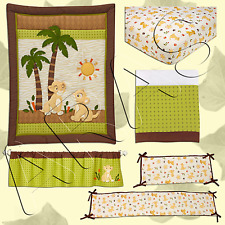 Lion King: Jungle Wild About You Baby Crib Bedding 5 Pc. Packet by Disney Baby