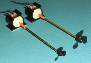 Model Boat Power Drive unit & Parts for Small Models