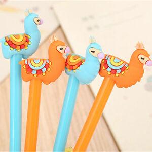6Pcs Fashion Cute Cartoon Lovely Camel Ball Pens Office School Stationery Kids
