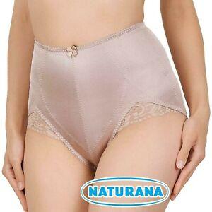 WOMEN NATURANA HIGH WAIST Control Panty Girdle 80512 Nude Beige, L-4XL, New