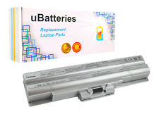 Laptop Battery Sony VAIO VGP-BPS13A VGP-BPS13B VGP-BPS21A - 4400mAh, Silver