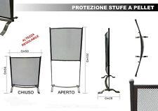 Protezione stufe a pellet / Schermo protettivo stufa regolabile in altezza