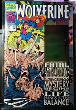 WOLVERINE #75 1993 DF SIGNED BY ADAM KUBERT-NM--MARVEL COMICS-COA-#6195/7,500