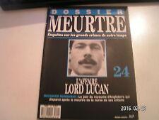 ** Dossier meurtre n°24 Richard Bingham L'affaire Lord Lucan