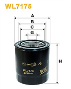 Genuine Wix Oil Filter WL7175 for Ford Ranger Mazda B series Toyota Hiace Hilux