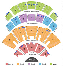 colosseum las vegas seating chart: Las vegas the colosseum at caesars palace nv concert tickets ebay