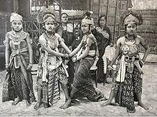 Exposition Universelle Paris 1889 les danseuses javanaises danses mystiques