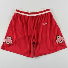 Game Worn Ohio State Buckeyes 44 Nike Shorts Authentic Team Issue Jersey