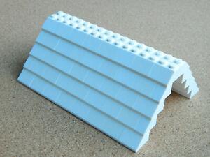 LEGO ROOF 5x12x16 # WHITE # 100 pieces Slopes Tiles 1x2 2x2 # NEW #