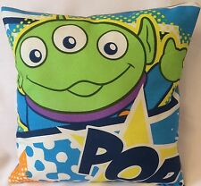 Toy Story Green Alien Handmade cushion cover/pillow case 12 inch x 12 inch