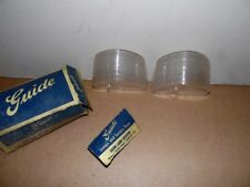 NOS BUICK PAIR 1957 BACK UP LENSES