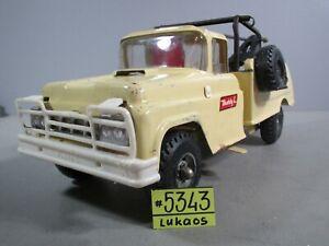 Vintage Buddy L  Wrecker Tow Truck   w/ Suspension!