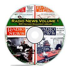 Amateur Radio TV Television News, Vol 1, 305 Classic OTR Magazines Set DVD B82