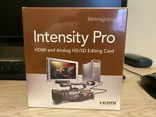 Black Magic Design Intensity Pro capture card New and sealed