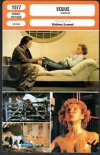 EQUUS - Burton,Firth,Blakely,Lumet (Fiche Cinéma) 1977