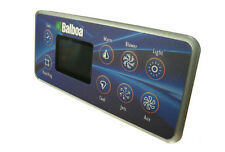 Balboa Topside Control - M2 / M3 Series Deluxe (1 Pump, Blwr, Aux, Lite) - 54128