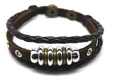 El tíbet serie! pulsera de cuero bracelet Leather unisex! pulsera de estilo surfista señores señora