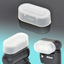 Nikon SB-N5 Flash Bounce Diffuser Dome Soft Cap Semi-Transparent V1 Speedlight