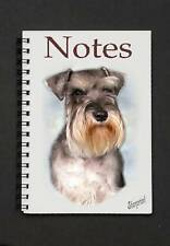 Miniature Schnauzer Notebook No 1 By Starprint - Auto combined postage