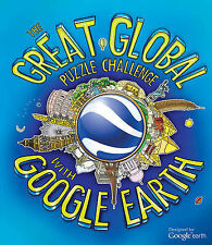 The Great Global Puzzle Challenge with Google Earth, Clive Gifford, Very Good co