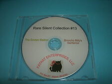 Rare Silent Film Collection #13 The Golden Stallion, Broncho Billy's Sentence
