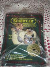 Boyds Bearwear Prissie Missie Fixin' Tea Pin Bear Wear New Nip