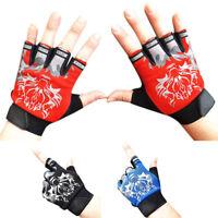 Ee _ Cn _ Unisex Exterior Sports Antideslizante Sol Resistente Lobo Medios Dedos