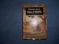 GOOD-BYE MR. CHIPS by James Hilton/HCDJ/Literature/Fiction/Humor