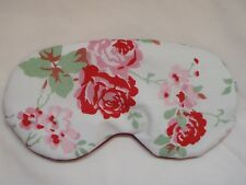 EYE SLEEP MASK using Cath Kidston Rose Fabric * Pretty gift Wedding Birthday