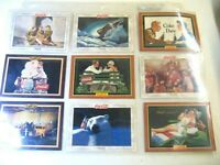 Vintage 1994 Coca Cola collectable 17 COKE ADS ART CARDS in vinyl sleeve 1904 UP