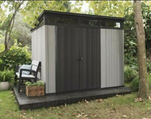 Keter Artisan 97 Giant Garden Shed 2.77m x 2.18m 10 Year Warranty Free Delivery