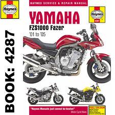 Yamaha FZS1000 Fazer 2001-05 Haynes Manual De Taller