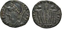 Rare Ancient Rome Ad 332-333 Constantine Follis Roma Heraclea Soldiers