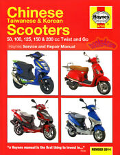 SCOOTER SHOP MANUAL SERVICE REPAIR BOOK 50 100 125 150 200 HAYNES CLYMER CHILTON