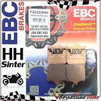 PASTIGLIE FRENO ANTERIORE SINTER EBC FA322HH KTM SUPERMOTO R 690 2008