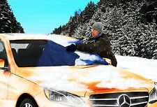 Zone Tech  Winter Car Windshield Snow Cover Summer Sun Protector Shade  35x70""