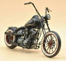 Handmade Vintage Harley Davidson Motorcycle Toy Metal Gift Bike Home Decorative