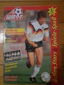 Album WORLD CUP 1994 Komplett Ferrero Duplo Hanuta