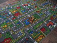 Spiel Kinder Teppich Straßenteppich Street Life verschiedene Abmessungen