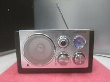 Centrios 1219583 AM/FM Chrome Wave Radio_
