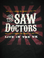 THE SAW DOCTORS LIVE IN THE UK TOUR 2007  BAND T-SHIRT M SIZE