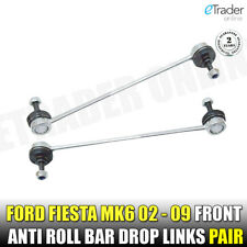 FORD FIESTA MK6 2002-2009 FRONT STABILISER ANTI ROLL BAR DROP LINKS X2 LINK