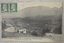 "CPA "" CAMBO LES BAINS - Villa Arnaga d' Edmond Rostand et la Chaîne de Montagnes"